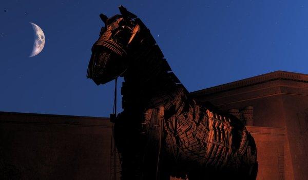 Assim como o cavalo de Tróia, uma boa história sempre parece um presente.